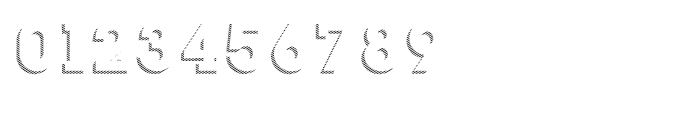 Slab Happy Shadow Font OTHER CHARS