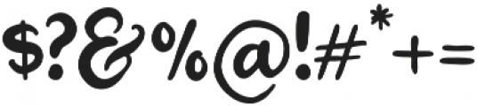 Smooth Boy Script otf (400) Font OTHER CHARS