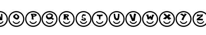 Smiley Faces Font LOWERCASE