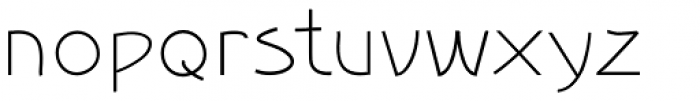 Smooth Buggaloo Pressed Font LOWERCASE