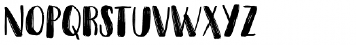 Snubnose Font LOWERCASE