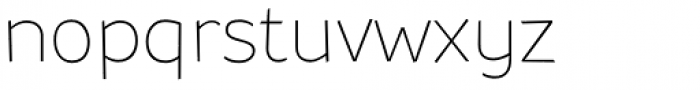 Souses Thin Font LOWERCASE