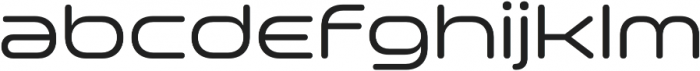 Space Colony Regular otf (400) Font LOWERCASE