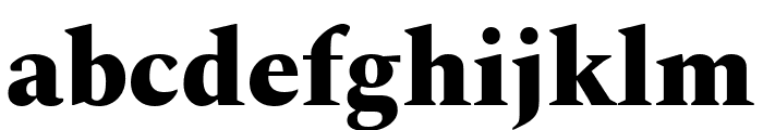 Spectral ExtraBold Font LOWERCASE