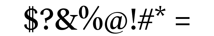 Spectral Medium Font OTHER CHARS