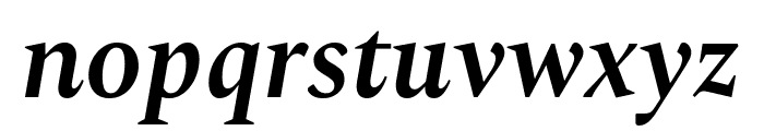 Spectral SemiBold Italic Font LOWERCASE