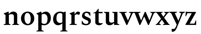 Spectral SemiBold Font LOWERCASE