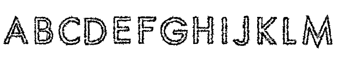 Spike Crumb Geiger Font LOWERCASE