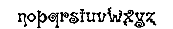 Spiral ST Font LOWERCASE