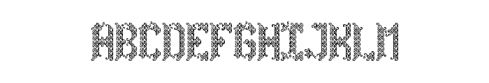 Spirited Away Regular Font UPPERCASE