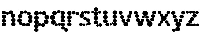 Spotted Fever Font LOWERCASE