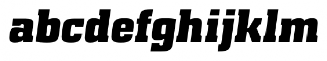 Special Forces Italic Font LOWERCASE