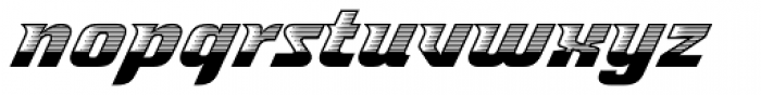 Spacelord Four Font LOWERCASE