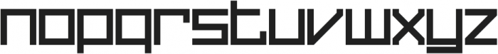 Sqair Solid otf (400) Font LOWERCASE