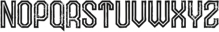 Squarespace Inline Grunge otf (400) Font LOWERCASE