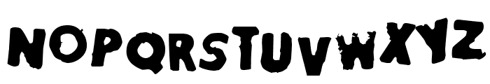 StamperFace Font LOWERCASE