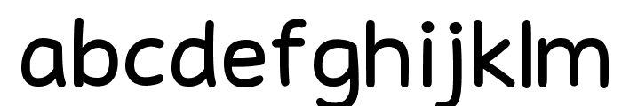 Stanberry Regular Font LOWERCASE