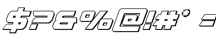 Starduster Outline Italic Font OTHER CHARS