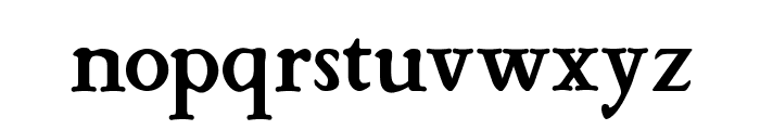 StrangeNewes Medium Font LOWERCASE