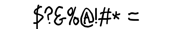 Stray Cat ExtraBold Condensed Font OTHER CHARS
