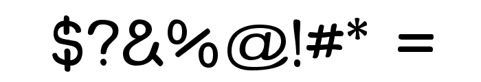 Street Freehand Font OTHER CHARS