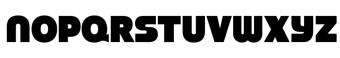 StrenuousBl-Regular Font LOWERCASE