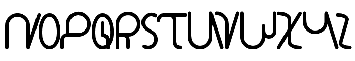 star constellation Font LOWERCASE