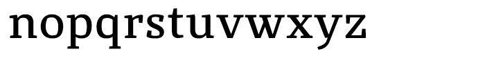 St Marie DemiBold Font LOWERCASE