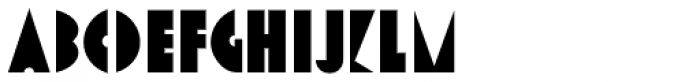Stage Play JNL Font UPPERCASE
