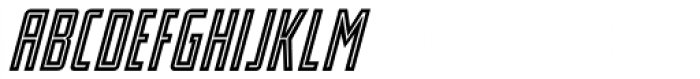 Stand By 4 Action Equal Italic Font LOWERCASE