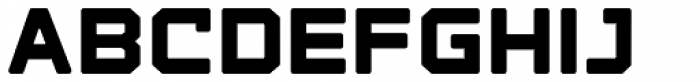 State Wide Soft Extra Bold Font LOWERCASE