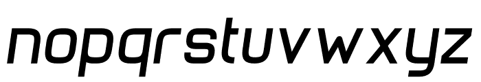 Stoica Bold Italic Font LOWERCASE