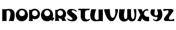 Subelair Font UPPERCASE