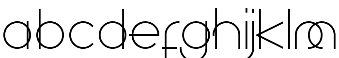 Superfine Font LOWERCASE