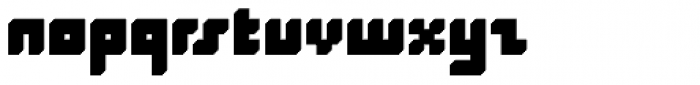 Superfurniture Silhouette Font LOWERCASE