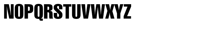 Swiss 911 Compressed Font UPPERCASE