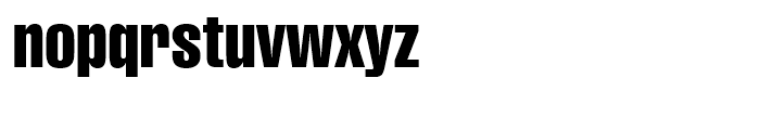Swiss 911 Compressed Font LOWERCASE