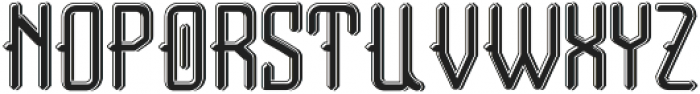 Tail font LightShadow otf (300) Font UPPERCASE