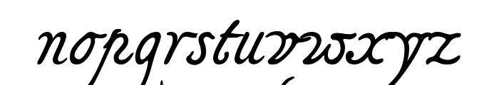 Tagettes Font LOWERCASE