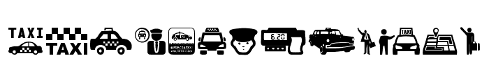 Taxi Font LOWERCASE