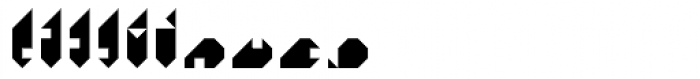 Tangram D Font OTHER CHARS