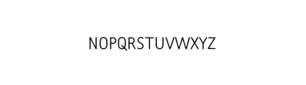 Tar Complete SmallCaps Thin Font LOWERCASE