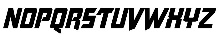 Tecate Font UPPERCASE