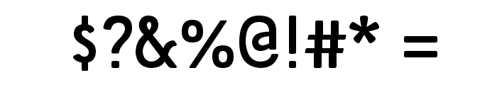 Tellural Font OTHER CHARS