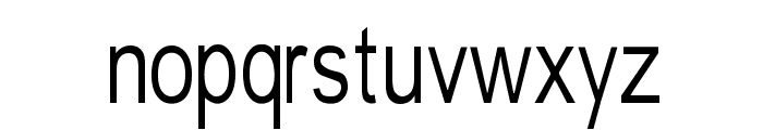 Tempest-narrow Font LOWERCASE