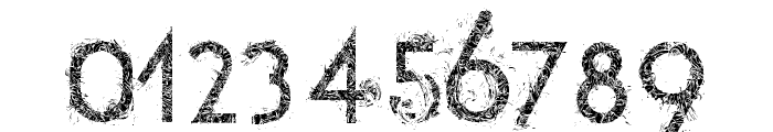 tetradecorative Font OTHER CHARS