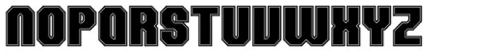 Team College Font UPPERCASE