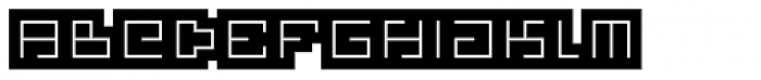 Technical Signature Mix Backlight Font LOWERCASE