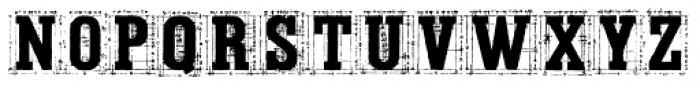 Tecon Solid Font UPPERCASE