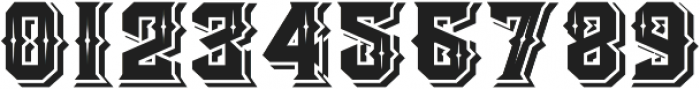 The Empire wars ornament shadow otf (400) Font OTHER CHARS